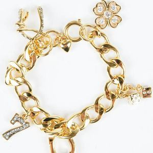 Juicy Couture Lucky Girl Wish Charm Bracelet